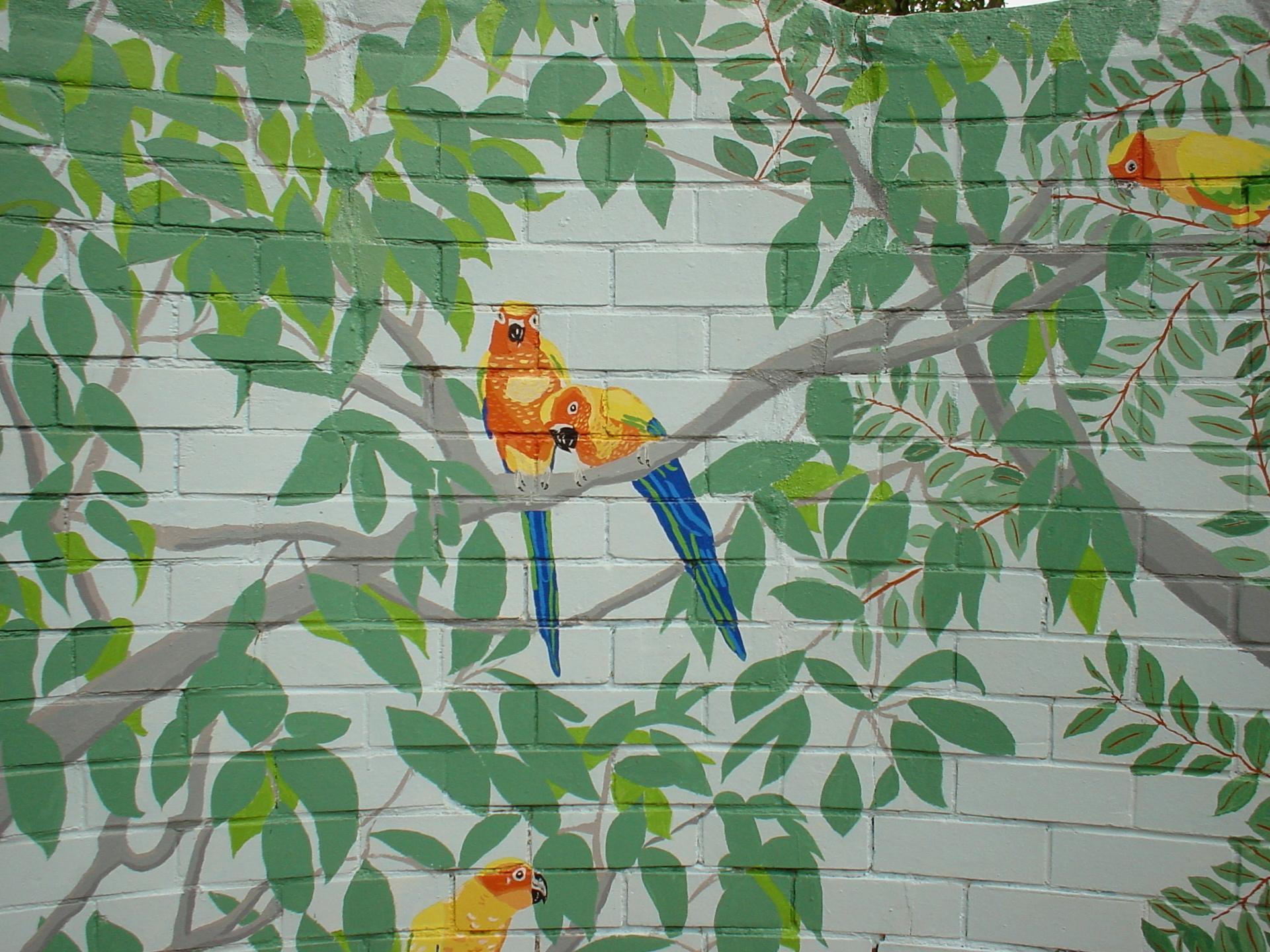 Mural Adelaide Zoo Lynette Arden